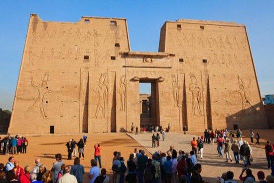 Dagstur till Edfu, Kom Ombo och Aswan från Luxor: Day tour to Edfu, Kom Ombo and Aswan from Luxor
