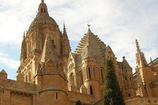 Salamanca met hoofdletters ...
