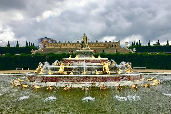 Versailles & Giverny med lunsj...