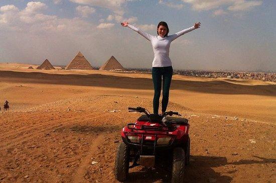 Safari en el desierto por el buggy.