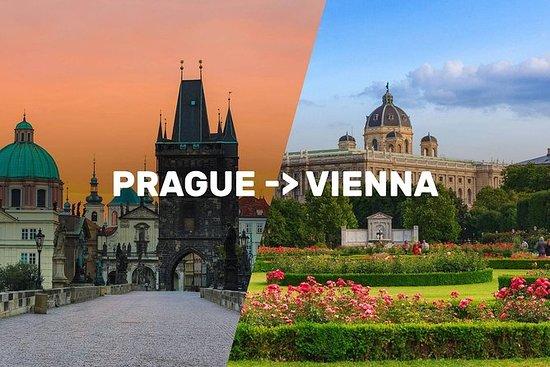 Prag-Wien One-Way Sightseeing Day Tour