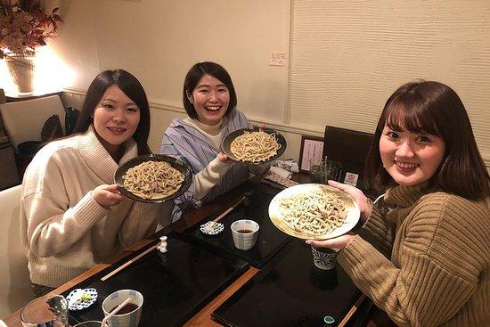 Japansk mat soba erfaring og Hokkaido...