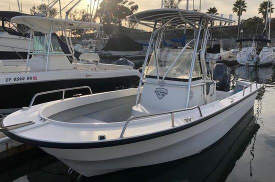 Quarter Day 21 ft Boat Rental (Self...