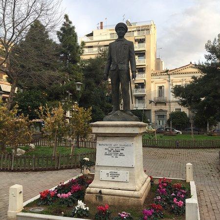 Piraeus, Greece: Terpsithea square