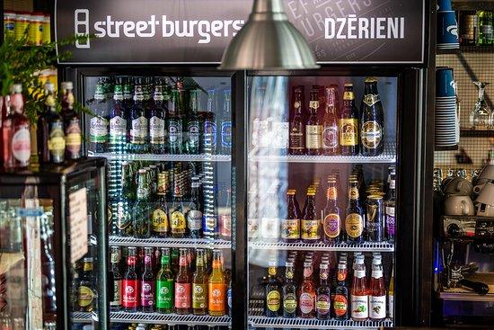 Latvian, Belgian, English, German, Irish and Mexican Beer.