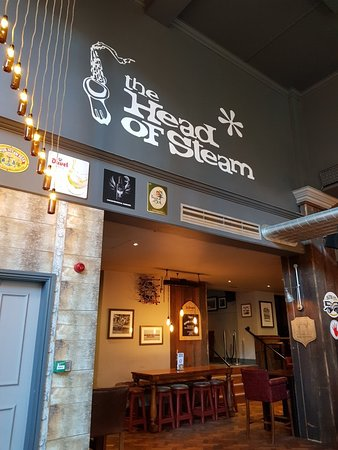 The Head of Steam: Great pub.