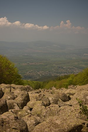 "View from ""morenite"" close to Kladnitsa, Vitosha."