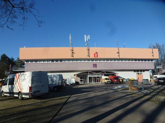 Ceske Budejovice, Czech Republic: Павильон, где проходила открытая часть феста