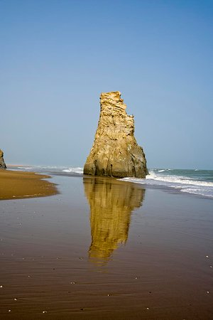 Balochistan Province, Pakistan: A View of Sapat Beach.