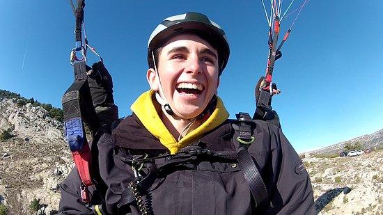 SkyWalk'Air: Plaisir après le décollage.