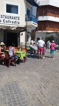 Restaurante La Cofradia de Pescadores: A amaizing time . the food and company are out of this world. Alison is a wonderful hostess
