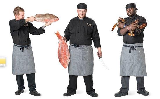 Black & Blue Steak & Crab: The Chefs