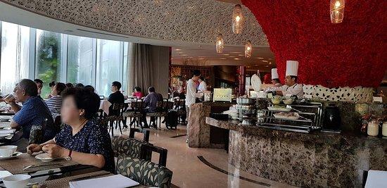 Breakfast Picture Of Hotel Mulia Senayan Jakarta Tripadvisor