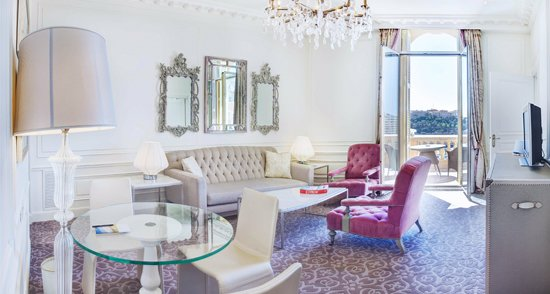 Monaco luxury hotels - Shows Hotel Hermitage in Monte Carlo