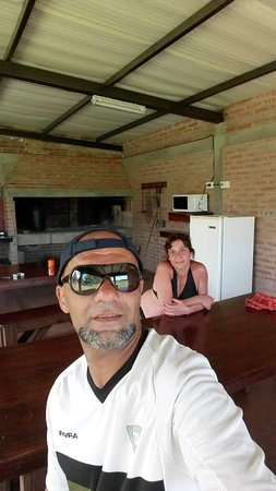 San Lorenzo, Argentína: Quincho completo con todos los utensillos