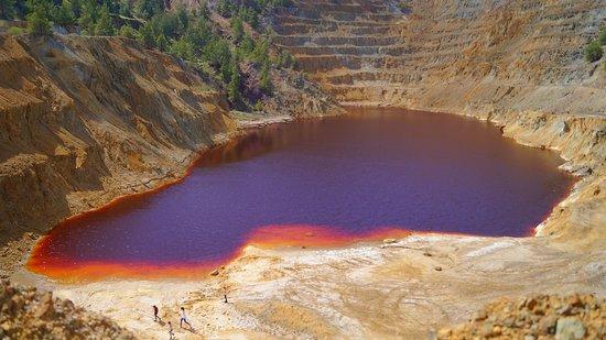 The Red Lake of Mitsero