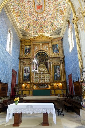 Altar and ceiling