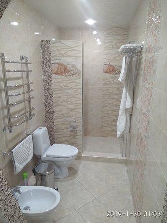 Palladium Hotel: Ванная комната