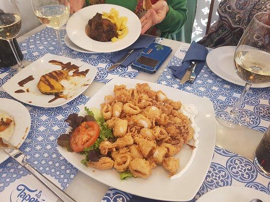 La Taperia Cordoba: calamares muy buenos.