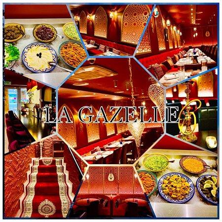 La Gazelle: Restaurant Marocain lounge shisha