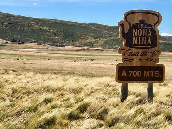 Llegando a Nona Nina