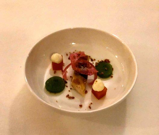 Der Gruß aus der Küche - Bild von Atlantic Restaurant ...