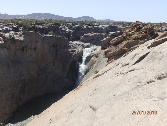 Il ramo principale delle cascate