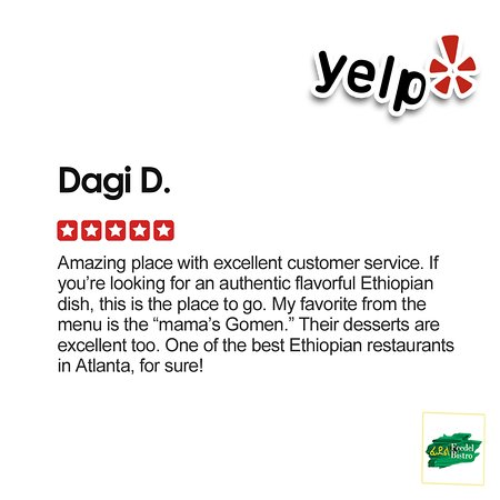 Come see for yourself why we're becoming an Atlanta favorite for delicious Ethiopian & Eritrean food!