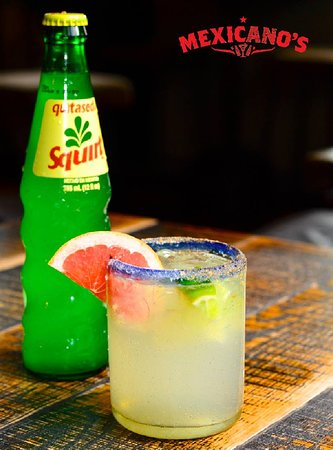 The Paloma is one of Mexico's favourite cocktails. While there are endless flavoured variants, the classic Grapefruit soda Paloma made with tequila, lime juice and a pinch of salt is the king of them all. The most important thing is, do you make it with the Mexican soda Jarrito (which is sweet) or the Mexican soda Squirt (which is tart and dry)?  The Mexicano's Familia believes that the Squirt beats the Jarrito hands down, thats why we import this soda direct from Mexico and we're the only place