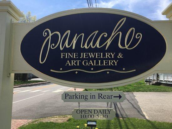 Panache Fine Jewelry and Art Gallery: Open year round