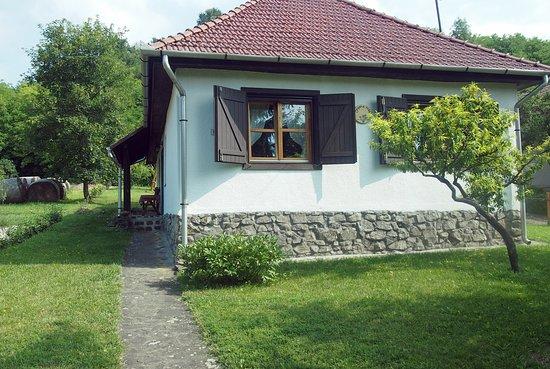 Szecseny, Hungary: Az Orgona Ház vidéki családi ház az erdő szélén, szép természeti környezetben. A csendre, pihenésre vágyóknak ideális. Két hálószoba, nappali, ebédlő, 5 fő részére.