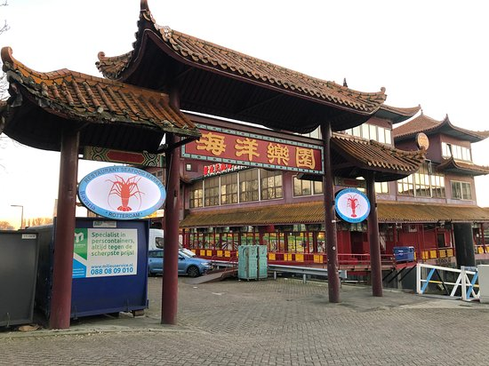 inside the restaurant - bilde av de gouden wok rotterdam bv i