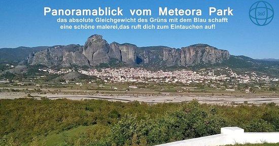 Panoramablick vom Meteora Park