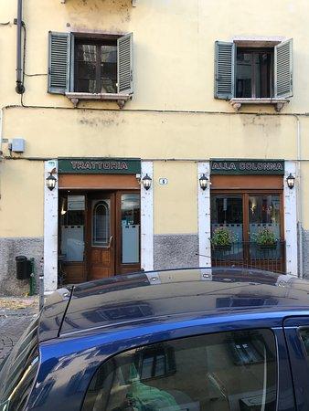 Trattoria alla Colonna: L'esterno del locale