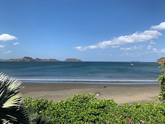 Casa Melray: View of Playa Potrero beach from Penthouse