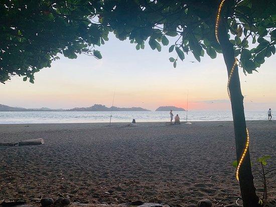 Casa Melray: View of Beach outside of Casa Delray-Playa Potrero
