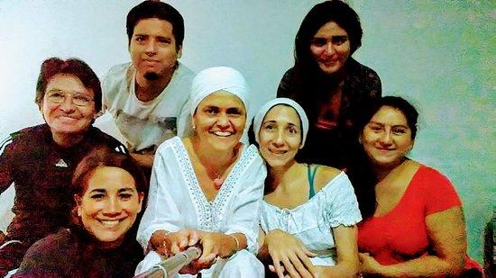 Magdalena del Mar, بيرو: Un selfie después de una clase de yoga