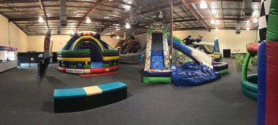 Aerial Fun Inflatable Arena
