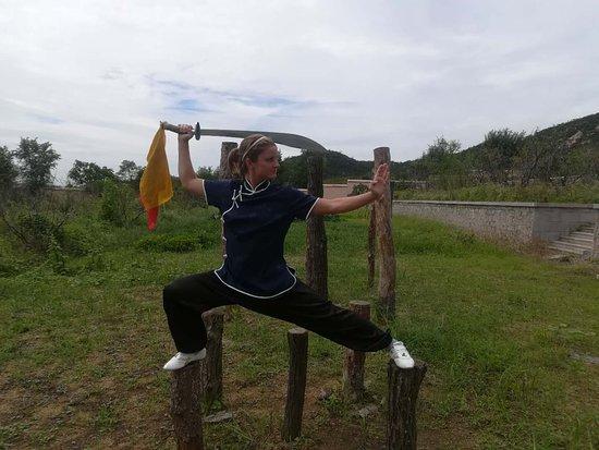 Wendeng, Kina: Mantis sword