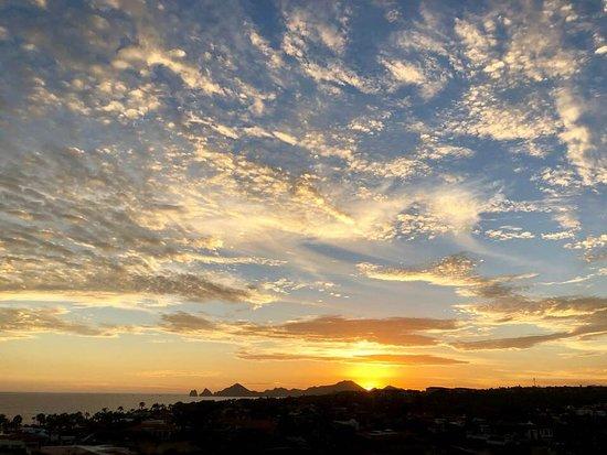 Hacienda Encantada Resort & Residences: Sunset view from our Villa