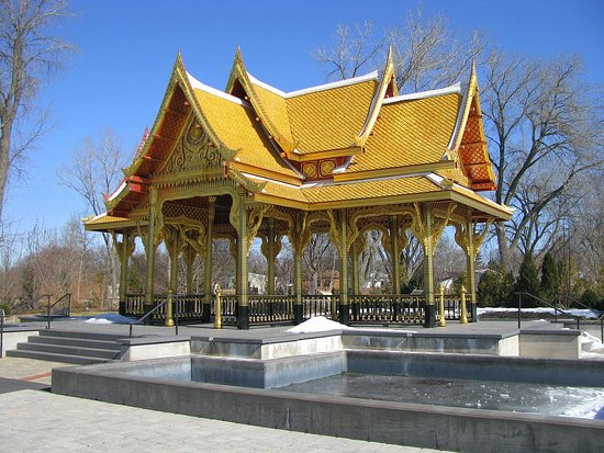 Olbrich Botanical Gardens: Thai Pavilion