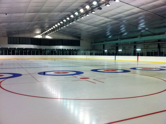 Stevenston, UK: Auchenharvie ice rink