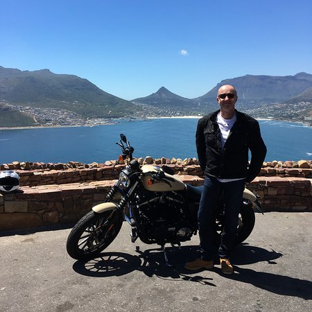 Hire a car, motorbike or pushbike and take the Chapmans Peak drive between Hout Bay and Noordhoek.