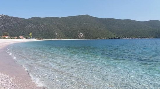 Fokiano. One of the best and unspoiled beaches in Peloponissos.