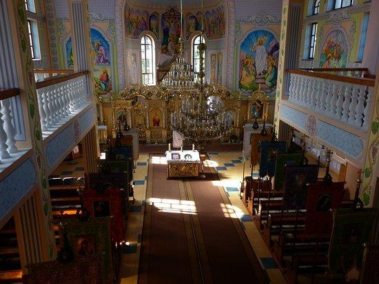 Volovets, Oekraïne: Vozneseniya Khristova Church