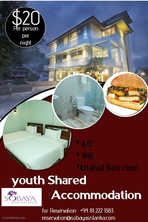Sobaya Hotel: Sobaya shared Accommodation Special Promotion 20USD Per person per night