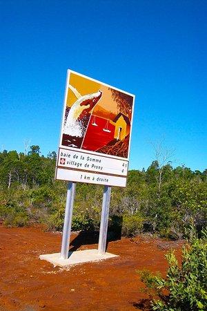 Grand Terre, New Caledonia: Prony Village - 1 km away !