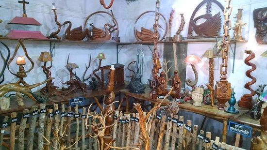 Warora, อินเดีย: Baba Amte Anand van Ashram creations