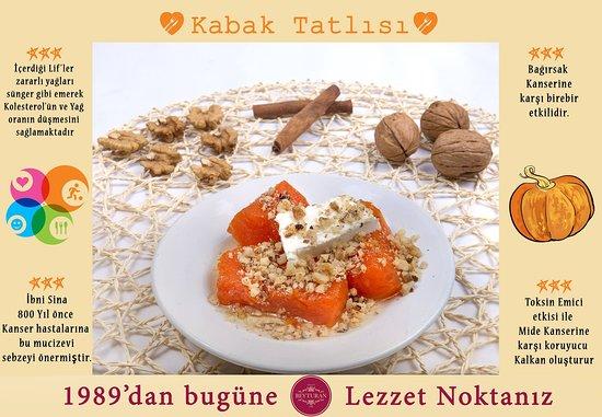 Menderes, Turkey: Kabak Tatlısı