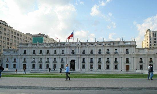 Viajando para Santiago do Chile, não deixe de assistir a troca da guarda do Palácio de La Moneda